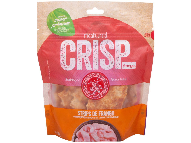 Petisco para Cachorro Adulto Natural Crisp - Strips de Frango 100g
