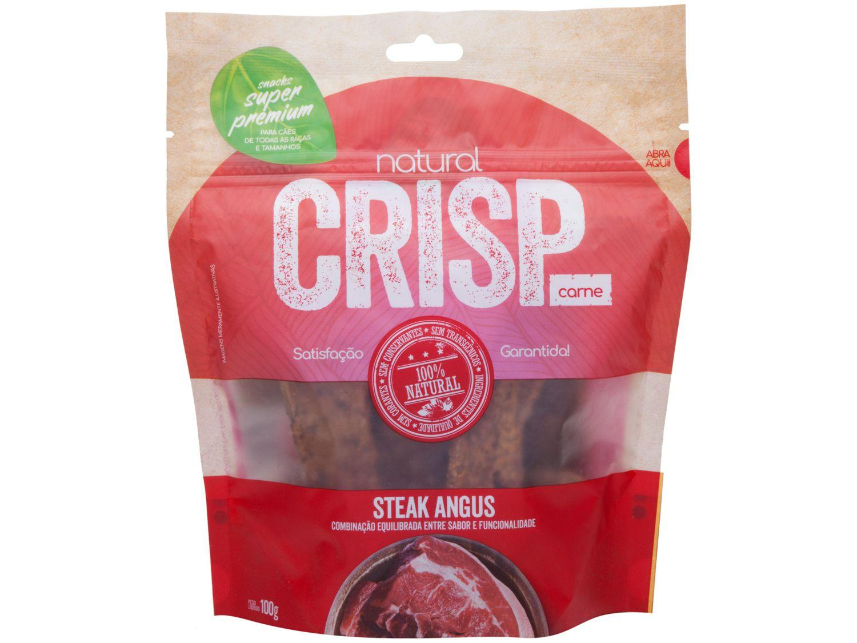 Petisco para Cachorro Adulto Natural Crisp - Steak Angus 100g