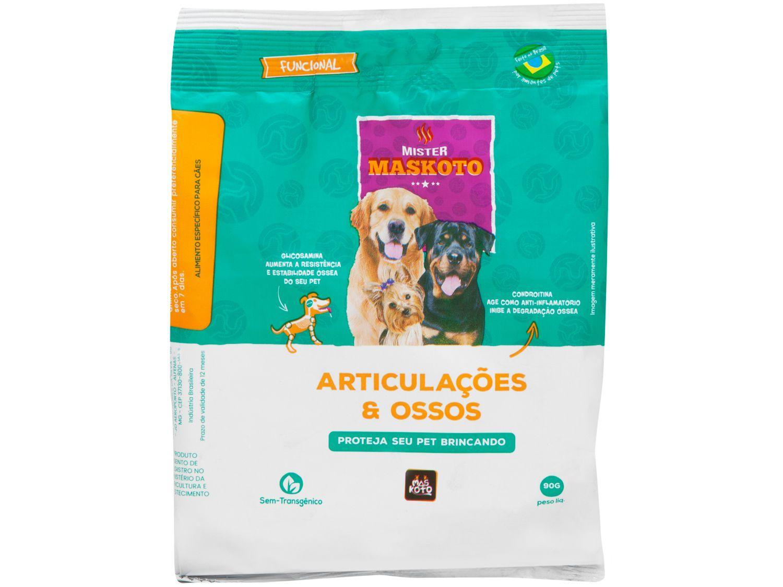 Petisco Natural para Cachorro Adulto Maskoto - Articulações e Ossos Carne 90g