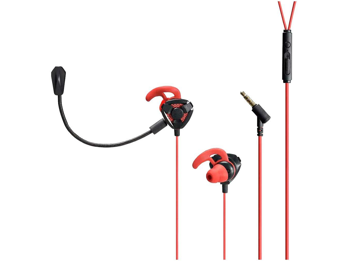 Fone de Ouvido Gamer Warrior com Microfone - Notebook PS4 Xbox One Intra-auricular