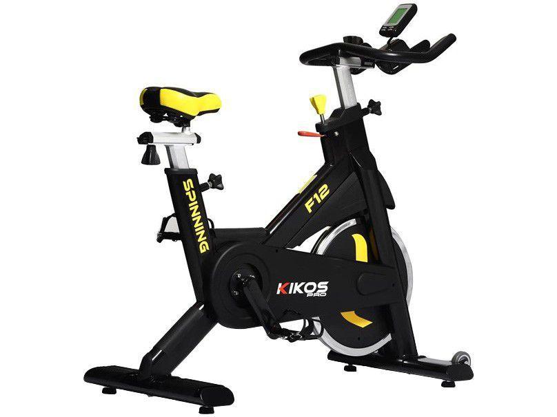 Bicicleta Spinning Profissional Kikos Pro F12 - Portátil