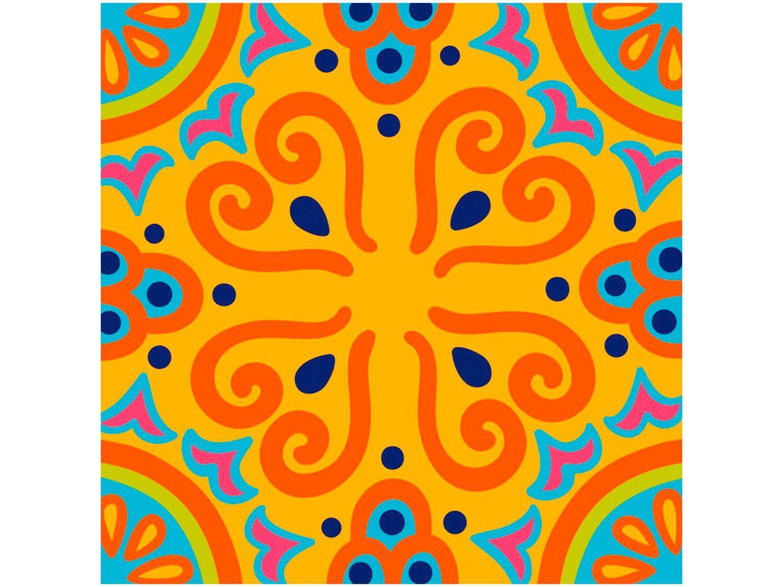 Adesivo de Azulejo Abstrato PVC Adesif N1905775 - 15x15cm 8 Unidades