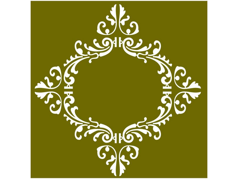 Adesivo de Azulejo Arabesco PVC Adesif N1905782 - 15x15cm 8 Unidades