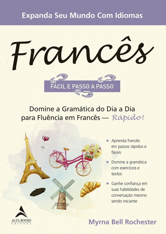 Livro - Francês Fácil e Passo a Passo