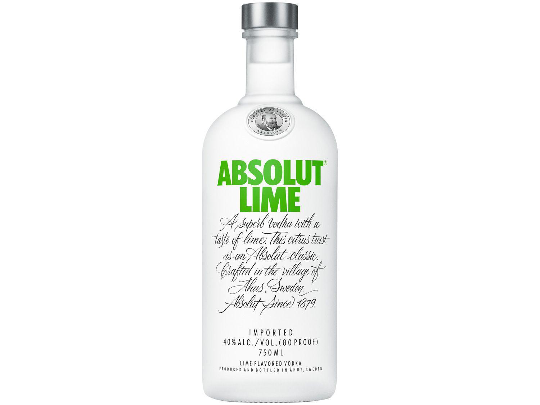 Vodka Absolut Limão-Taiti 750ml