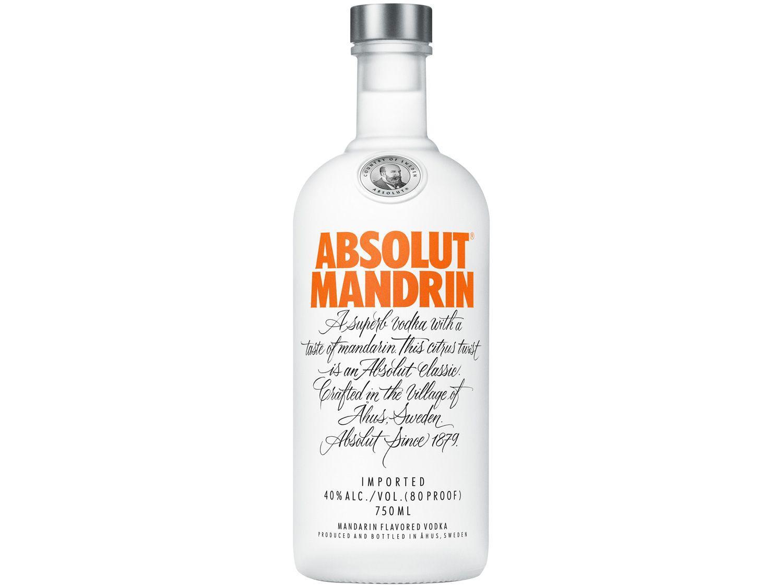 Vodka Absolut Tangerina Mandrin 750ml