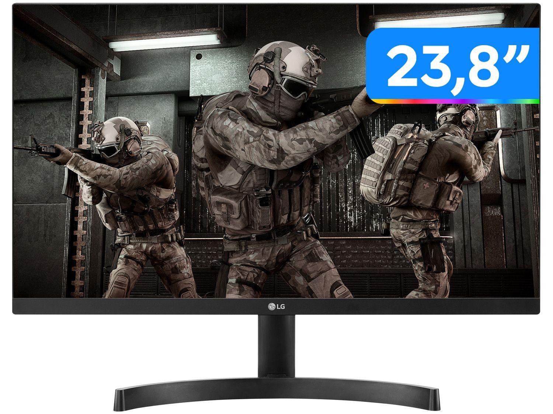 "Monitor Gamer LG 24ML600M-B.AWZ 23,8"" LED - IPS Widescreen Full HD 75Hz 1ms"