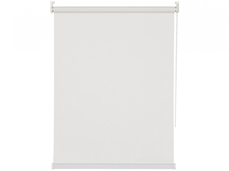 Persiana Rolô PVC Branca 220x220cm - Evolux Tela Solar