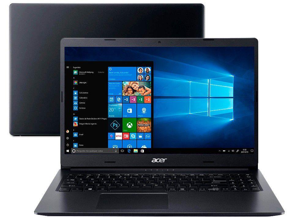 """Notebook Acer Aspire 3 A315-23-R6DJ AMD Ryzen 3 - 8GB 1TB 15,6"""" LED Windows 10"""