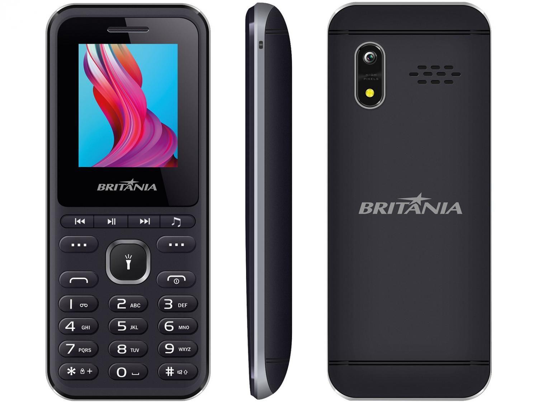 Celular Britânia BCE01 Dual Chip Bluetooth - Desbloqueado