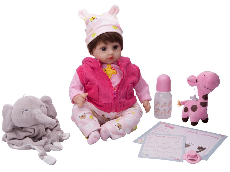 Boneca Reborn Dream Alexa Laura Baby - 47cm com Acessórios