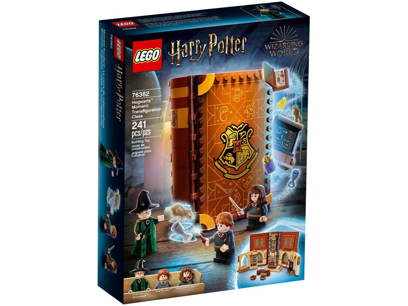 LEGO Harry Potter Momento Hogwarts - Aula de Transfiguração 241 Peças 76382