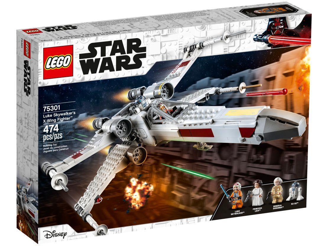LEGO Star Wars X-Wing Fighter de Luke Skywalker - 474 Peças 75301