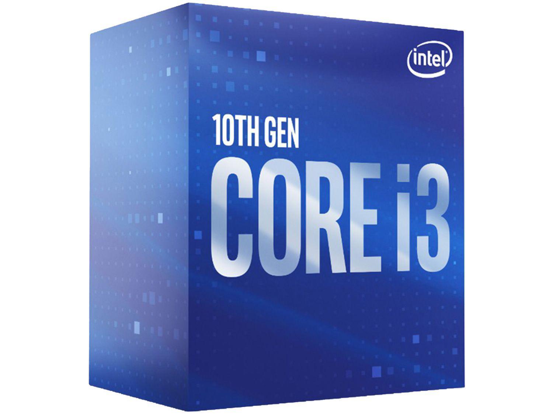 Processador Intel Core i3 10100F Comet Lake - 3.60GHz 4.30GHz Turbo 6MB