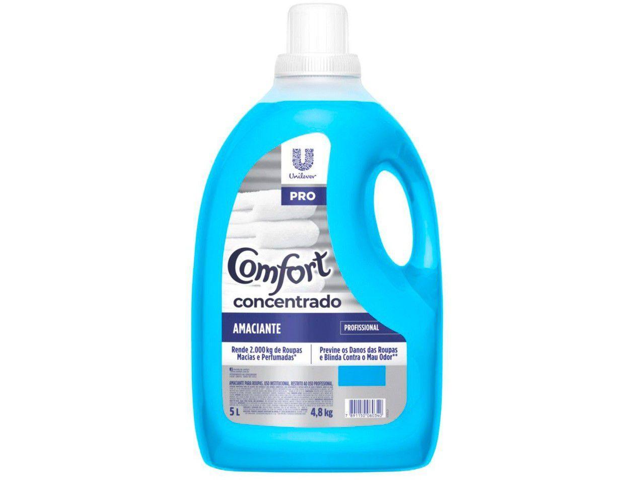 Amaciante Comfort Profissional Concentrado 5L