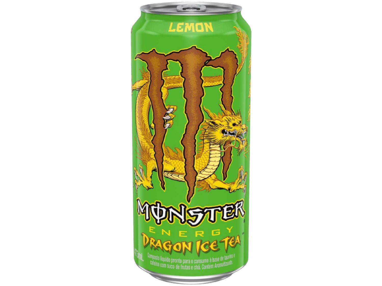 Bebida Energética Monster Dragon Ice Tea - Limão 473ml