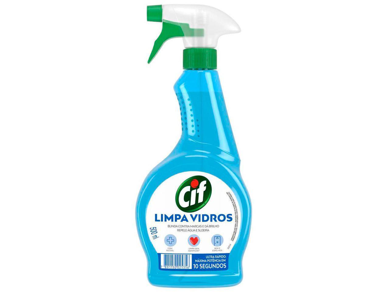 Limpa Vidro Cif Ultra Rápido 500ml