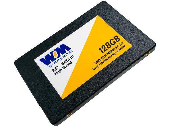 "SSD 128GB WIN MEMORY SATA 2,5"" Leitura 560MB/s - Gravação 540MB/s SWR128G"