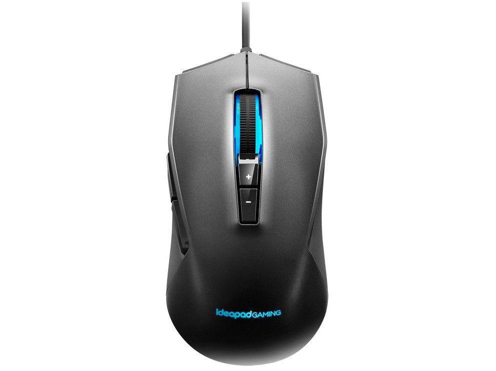 Mouse Gamer RGB Lenovo Óptico 3200DPI - 7 Botões M100