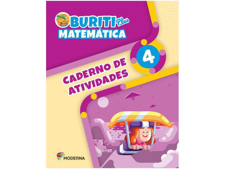 Caderno de Atividades Buriti Plus 4° ano - Matemática