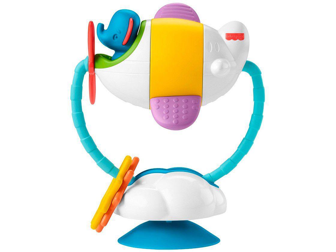 Brinquedo Interativo Fisher-Price Baby - Avião de Atividades Mattel