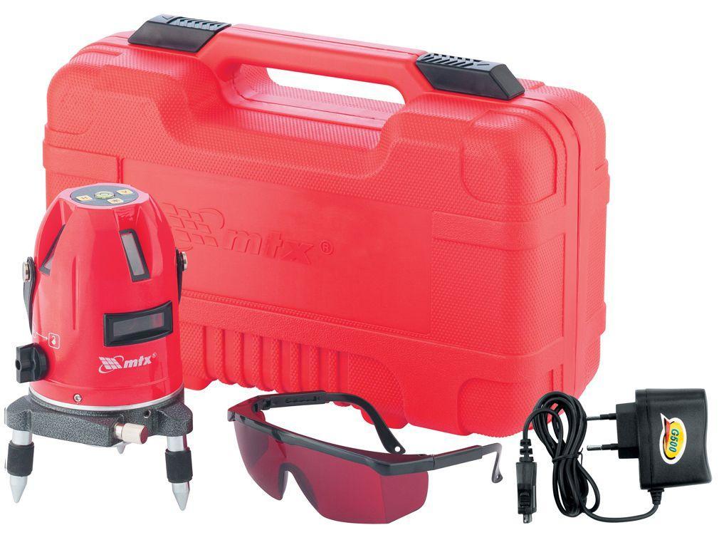 Nível a Laser Auto Nivelamento MTX 350359 - Alcance 10m com Maleta