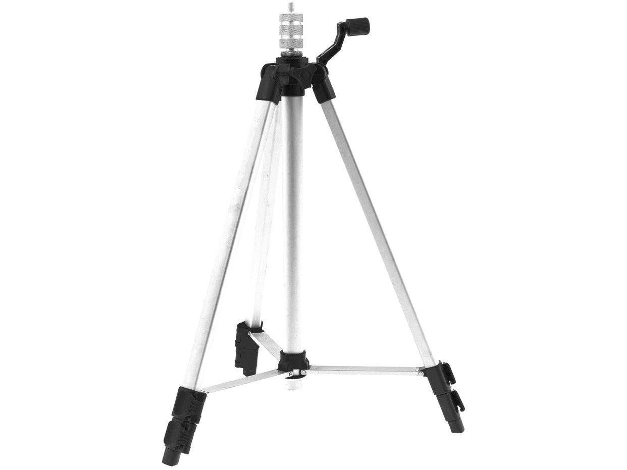 """Tripé para Nível Laser MTX 3508955 5/8"""" e 1/4"""" - 42 a 110cm"""