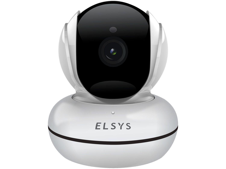 Câmera de Segurança Inteligente Wi-Fi Elsys Robô - Full HD Interna Visão Noturna ESC-WR3F