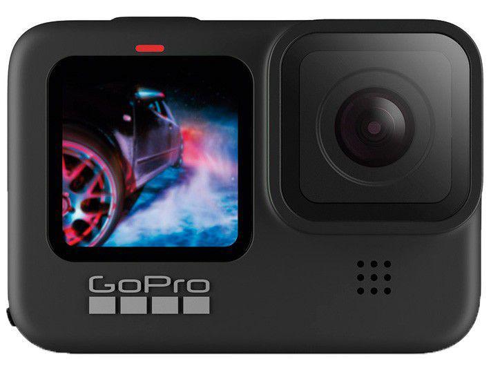 "GoPro HERO9 Black 20MP 5K Wi-Fi Bluetooth GPS - 2,27"" à Prova de Água Transmissão ao Vivo"