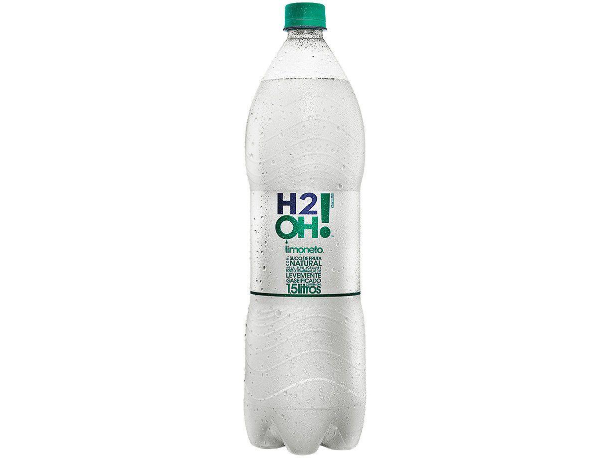 Refrigerante H2OH! Limoneto Zero Açúcar 1,5L