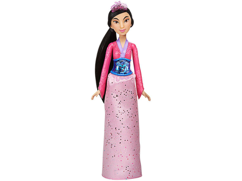 Boneca Disney Princess Brilho Real - Princesa Mulan Hasbro