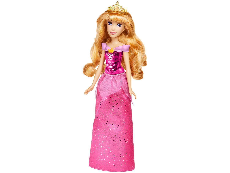 Boneca Disney Brilho Real Shimmer - Princesa Aurora Hasbro