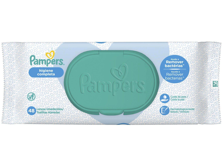 Lenço Umedecido Pampers Higiene Completa - 48 Unidades