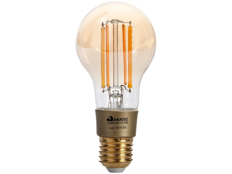Lâmpada Inteligente i2GO E27 Amarela 7W - Home Smart WiFi Bulb compatível com Alexa