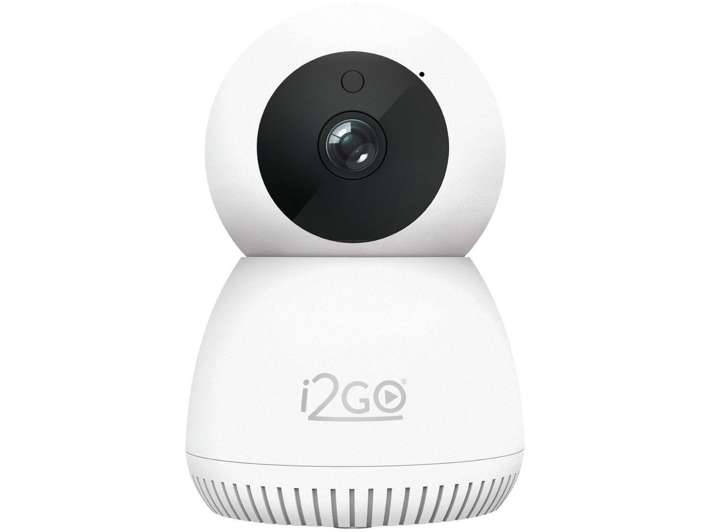 Câmera de Segurança Inteligente Wi-Fi i2GO - Full HD Interna Visão Noturna Home Smart WiFi