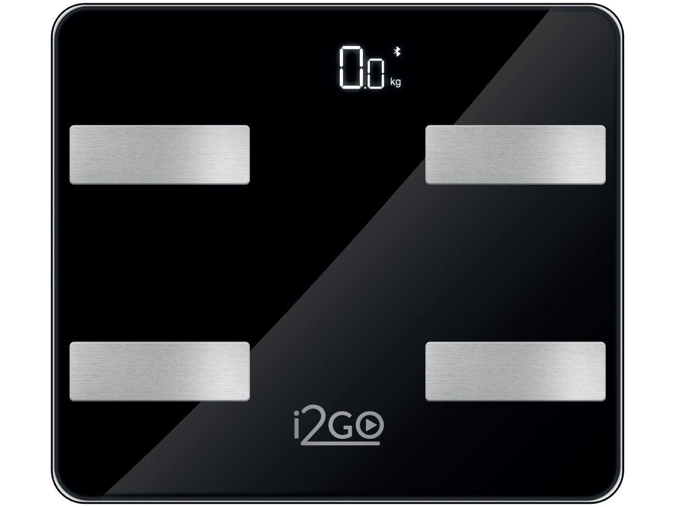 Balança Digital de Bioimpedância Bluetooth - até 180kg i2GO Home Smart Scale Fit