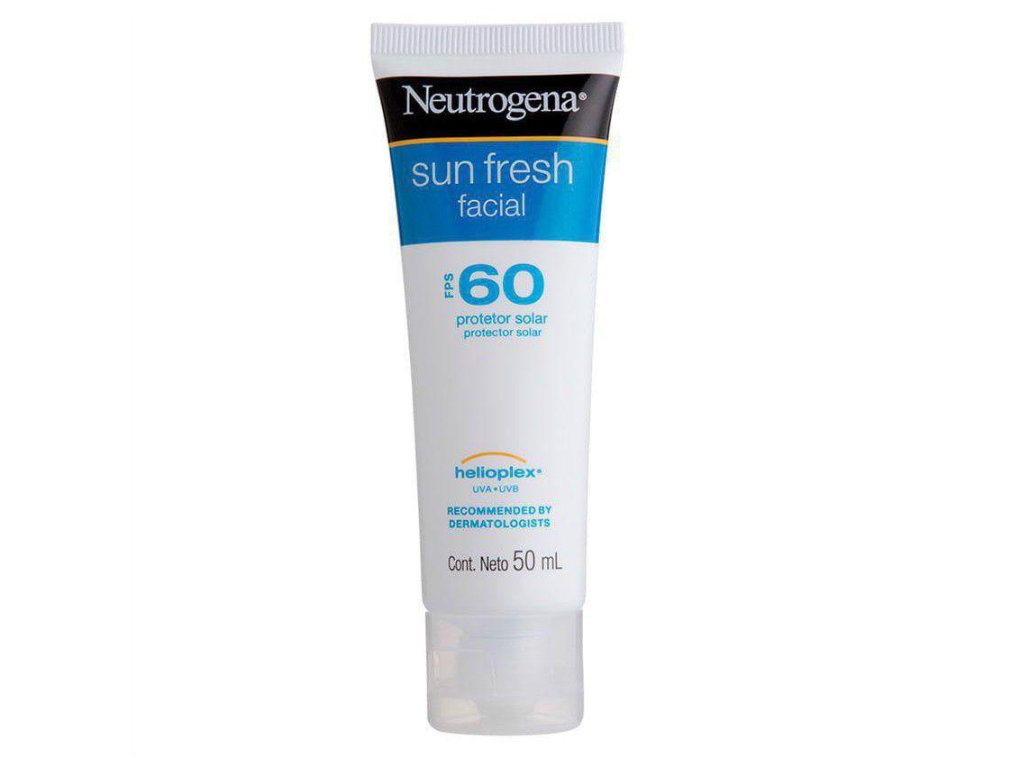 Protetor Solar Neutrogena Sun Fresh Facial FPS 60