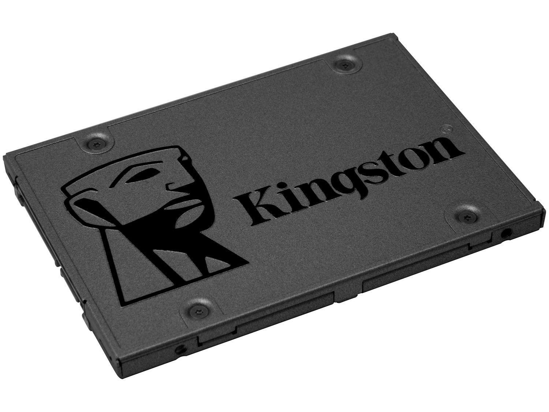 "SSD 960GB Kingston SATA 3.0 2,5"" - Leitura 500MB/s e Gravação 450MB/s A400"