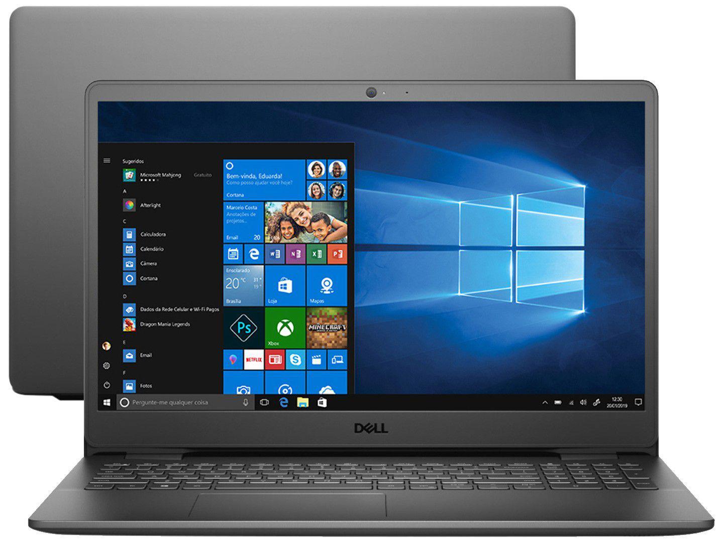 "Notebook Dell Inspiron 15 3000 3501-A45P - Intel Core i5 8GB 256GB SSD 15,6"" LED Windows 10"