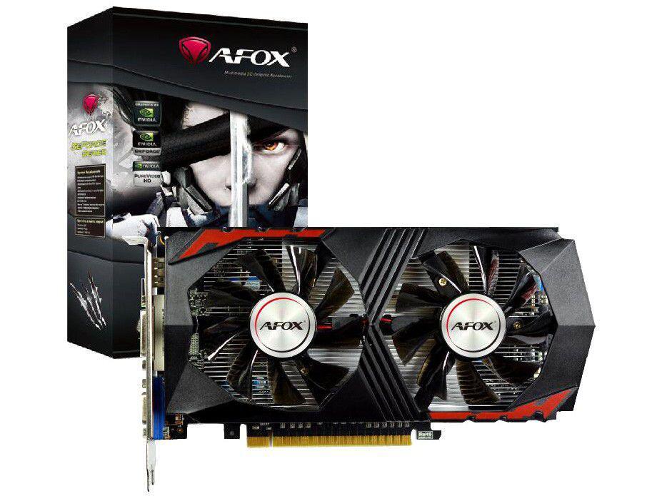 Placa de Vídeo Afox GeForce GTX750 Ti 2GB - GDDR5 128 bits GTX750TI