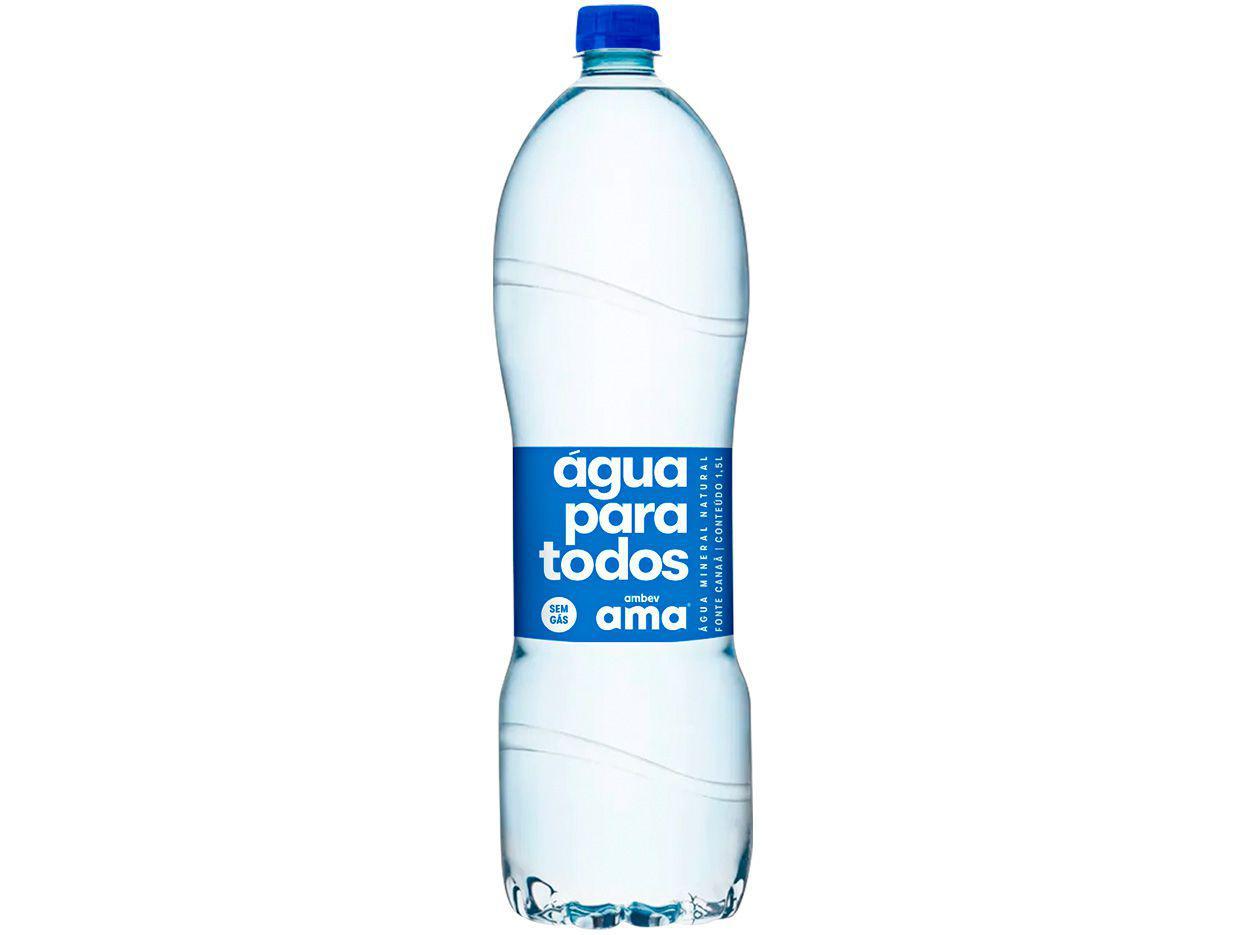 Água Mineral sem Gás Ama 1,5L