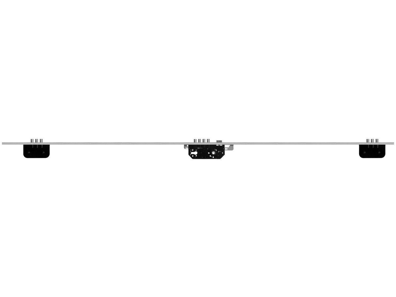 Fechadura 10 Pinos Fortezza F-P-3MFP-AL Externa - de Embutir Prata