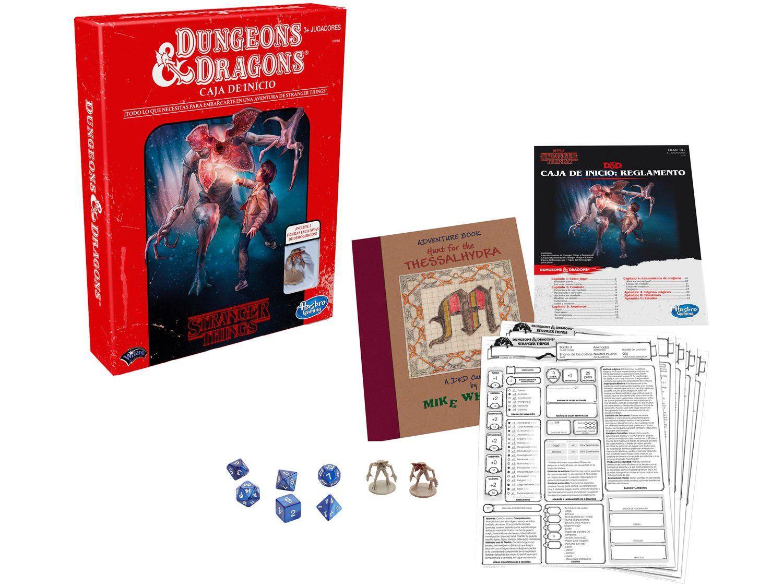Jogo Stranger Things - Dungeons & Dragons Starter Set Hasbro Gaming