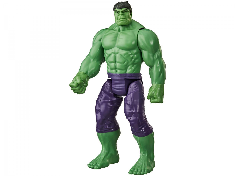 Boneco Hulk Marvel Vingadores Titan Hero Deluxe - 30cm Hasbro
