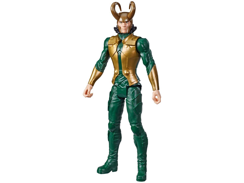 Boneco Marvel Vingadores Titan Hero Series - Loki 30cm Hasbro