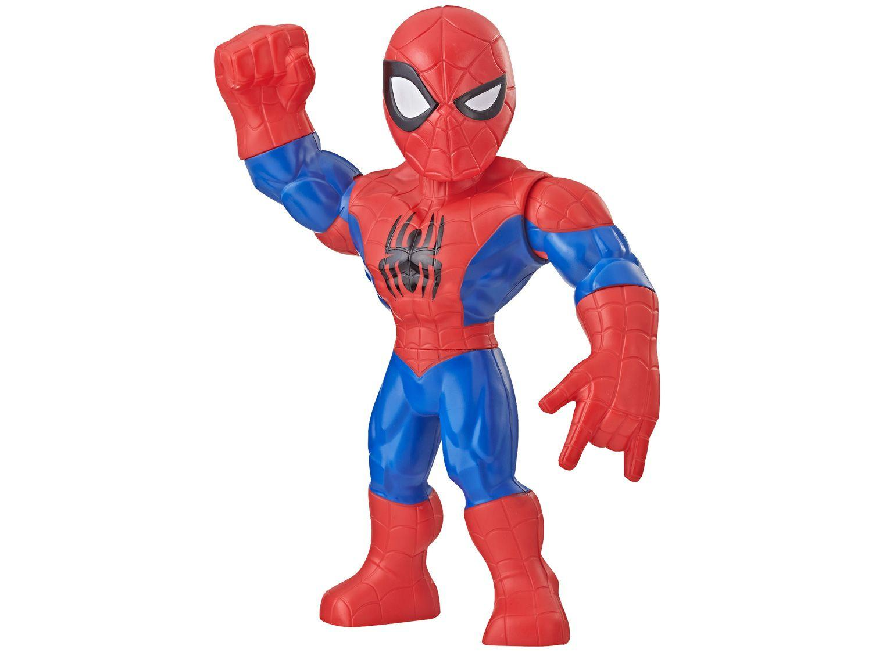 Boneco Homem-Aranha Playskool Heroes Marvel - Super Hero Adventures Mega Mighties 30cm Hasbro