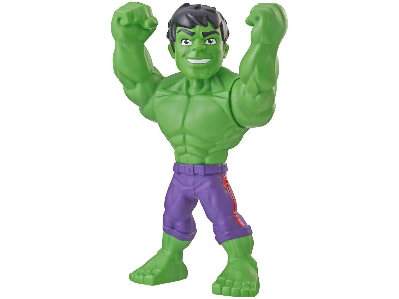 Boneco Hulk Playskool Heroes Marvel Super Hero - Adventures Mega Mighties 30cm Hasbro