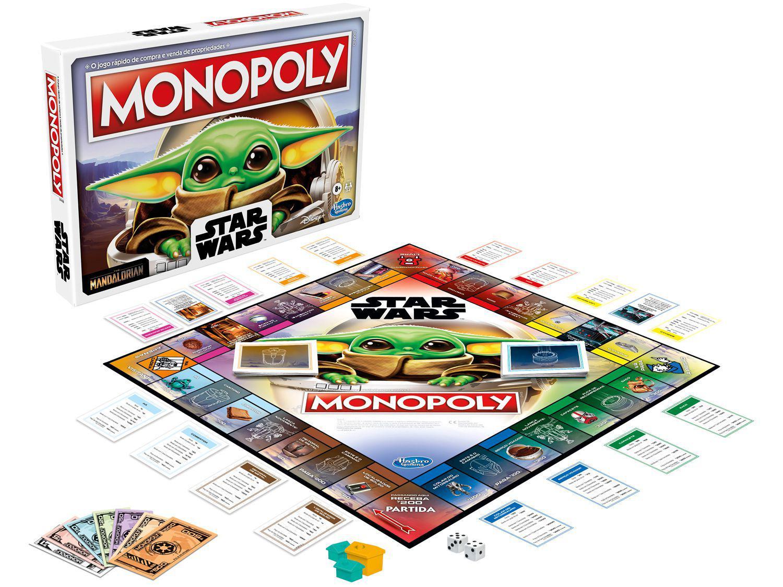 Jogo Monopoly Star Wars The Child (Baby Yoda) - Tabuleiro Hasbro