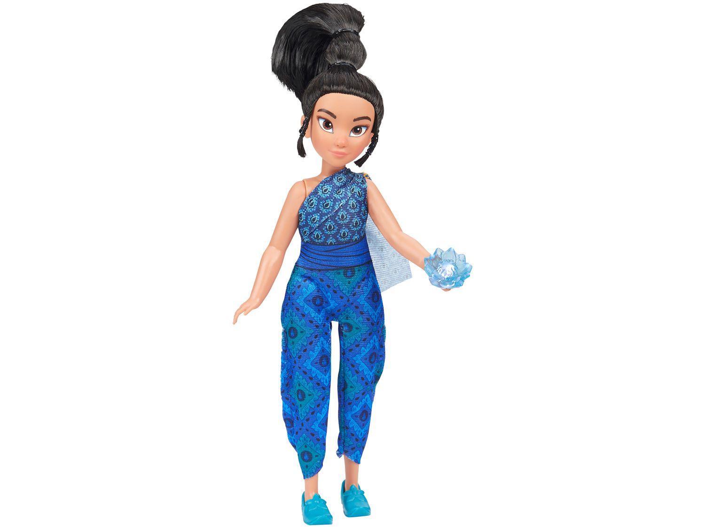 Boneca Disney Raya e O Último Dragão - Jovem Raya e Flor de Kumandra Hasbro