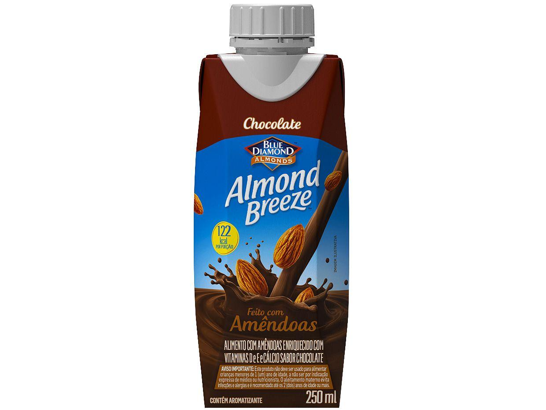 Bebida Vegetal de Amêndoas Almond Breeze - Chocolate 250ml